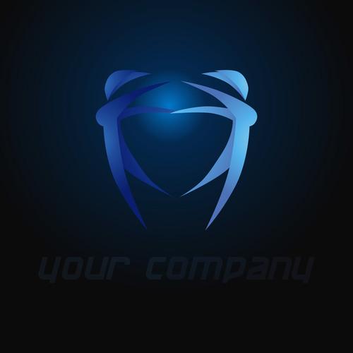 Abstract creative logo design vector