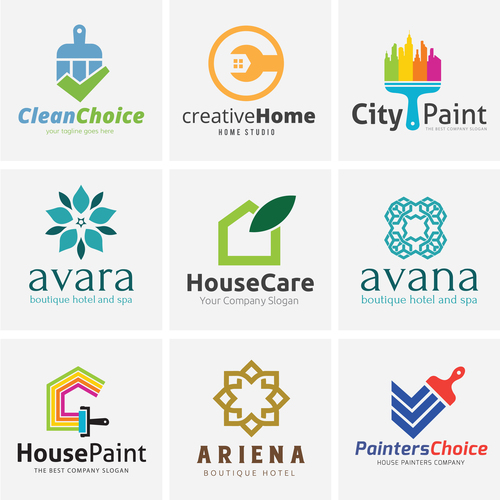 Architecture logo design vector