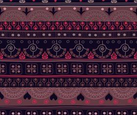 Aztec ethnic seamless pattern vector