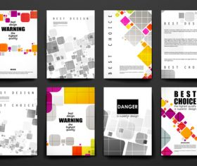 Best choice brochure design vector
