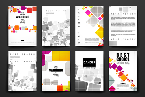 Best choice brochure design vector