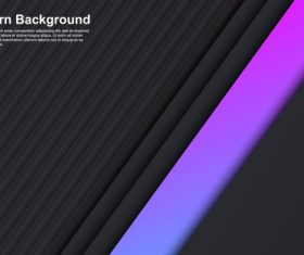 Black background pink stripes vector