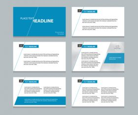 Business infographics templates vector