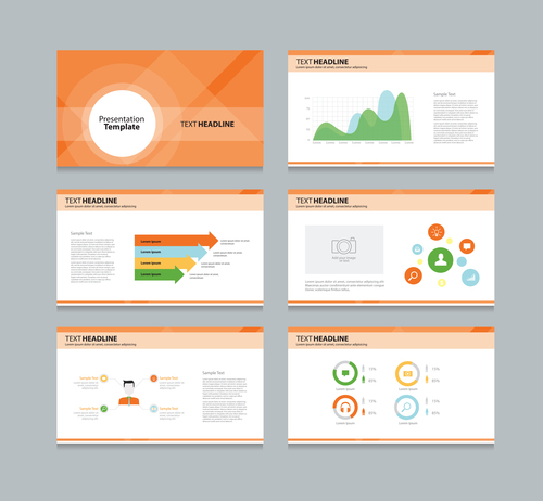 Corp promote chart information vector