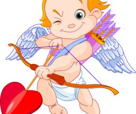 Cupid arrow vector