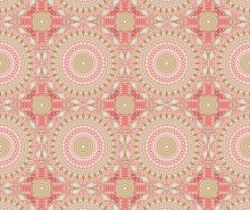 Dazzling decorative seamless pattern vector