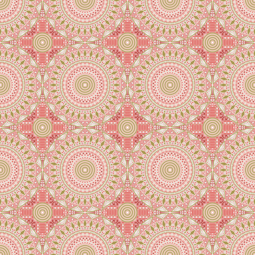 Dazzling decorative seamless pattern vector