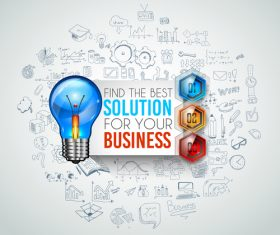 Find best solution information vector