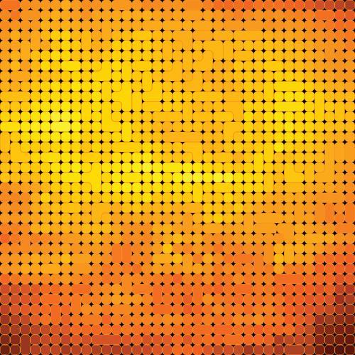 Golden gradient texture pattern vector background