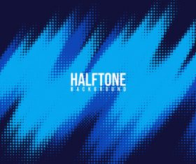 Gradient halftone creative background vector
