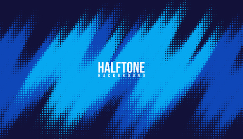 Gradient halftone creative background vector