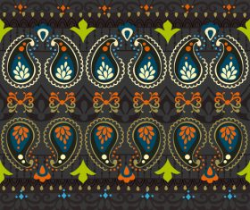 India Jewellery seamless pattern vector