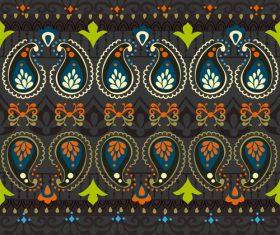 India Jewellery seamless pattern vector