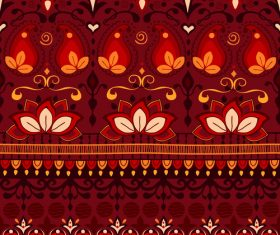 India pattern seamless vector