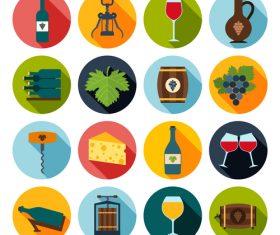 Liquor icon vector