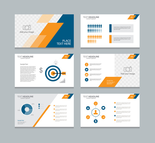 Marketing and service infographic vector