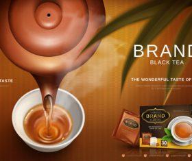 Mellow taste advertising vector