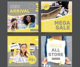 Merchandise promotion discount vector