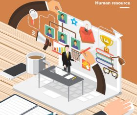 Online course business vector