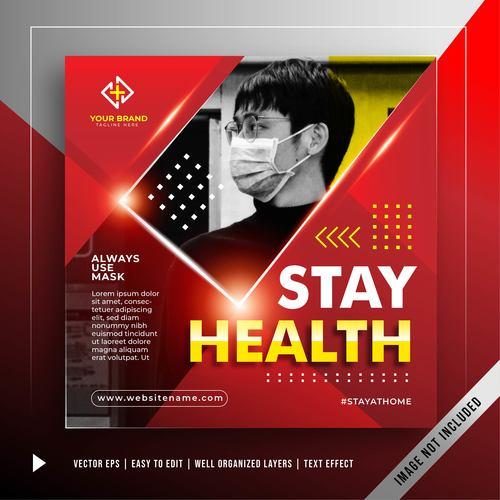 Prevent coronavirus attack promotion vector