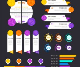 Product classification infographic vector