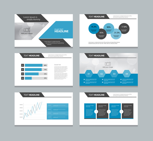 Production management infographic vector