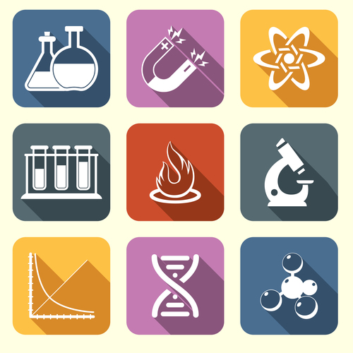 Research icon vector