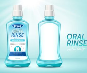 Rinse packaging vector