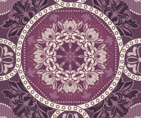 Seamless background purple pattern vector