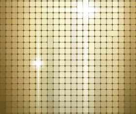Shiny light gold texture pattern vector background