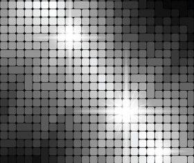 Shiny metallic texture pattern vector background