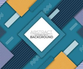 Wave abstract geometric vector background style