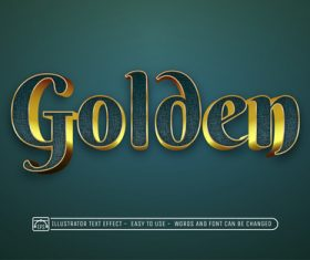 3d art graphic text style vector