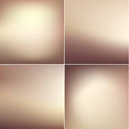 Abstract beige blurry background vector