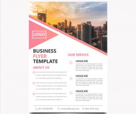 Annual stock report template vector