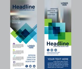 Banners template vector