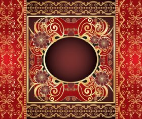 Beautiful decorative vector background