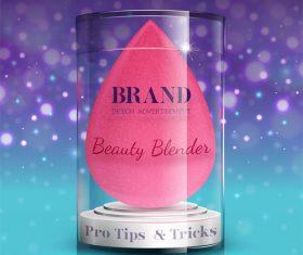 Beauty blender vector