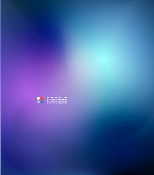 Blurred two color abstract background vector