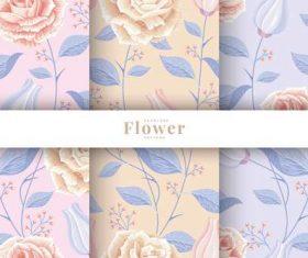 Botanical seamless pattern vector