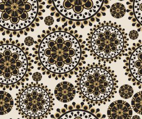 Brown black decorative vector background