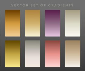 Collection premium vintage gradients vector