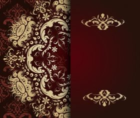 Colored vector background pattern