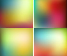 Colorful blurry abstract background vector