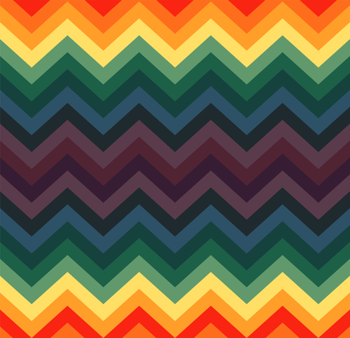 Colorful wave background vector