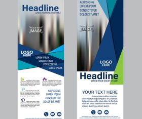 Corporate banners vector
