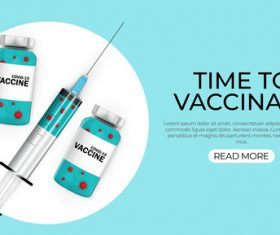 Cover time to vaccinate vector