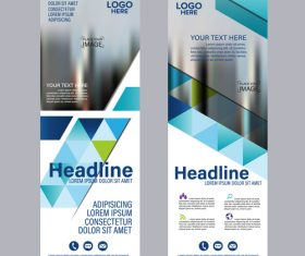 Creative design banners template vector