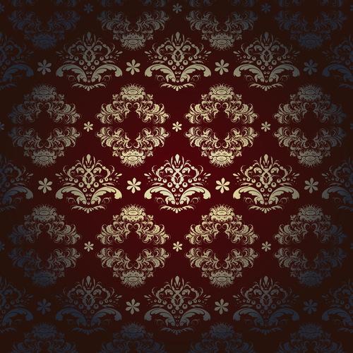 Dark red vector background pattern