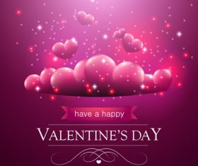 Design valentine greeting card vector